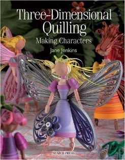 THREE DIMENSIONAL QUILLING MAKING CHARACTERS