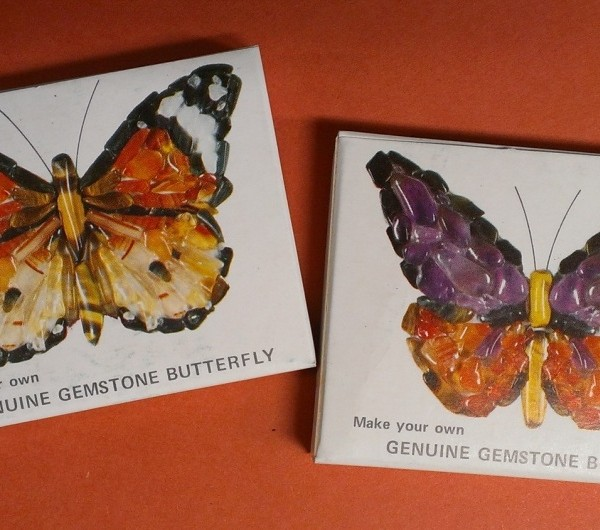 Gemstone Butterflys